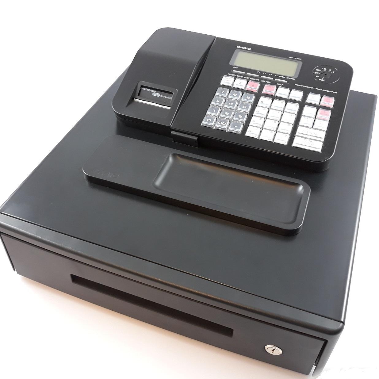Casio kassa SE-S100 M zwart - Kassa webshop df84490f5a