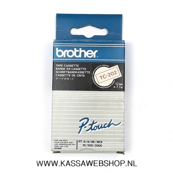 Brother tape TC202