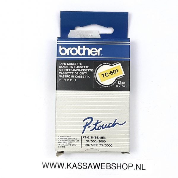 Brother tape TC601